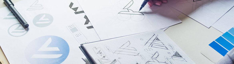 Grafisk design av logo